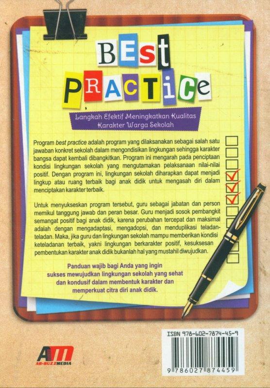Cover Belakang Buku Best Practice