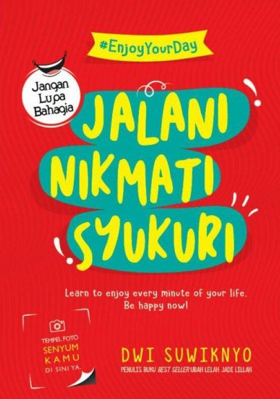 Cover Buku Jalani Nikmati Syukuri