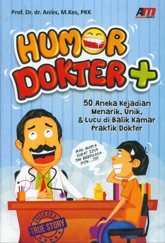 Cover Buku Humor Dokter
