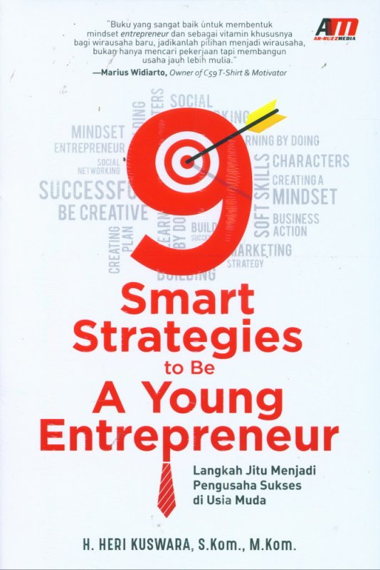 Cover Buku 9 Smart Strategies to Be A Young Entrepreneur