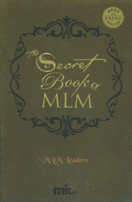 Cover Buku The Secret Book of MLM (cover warna coklat)