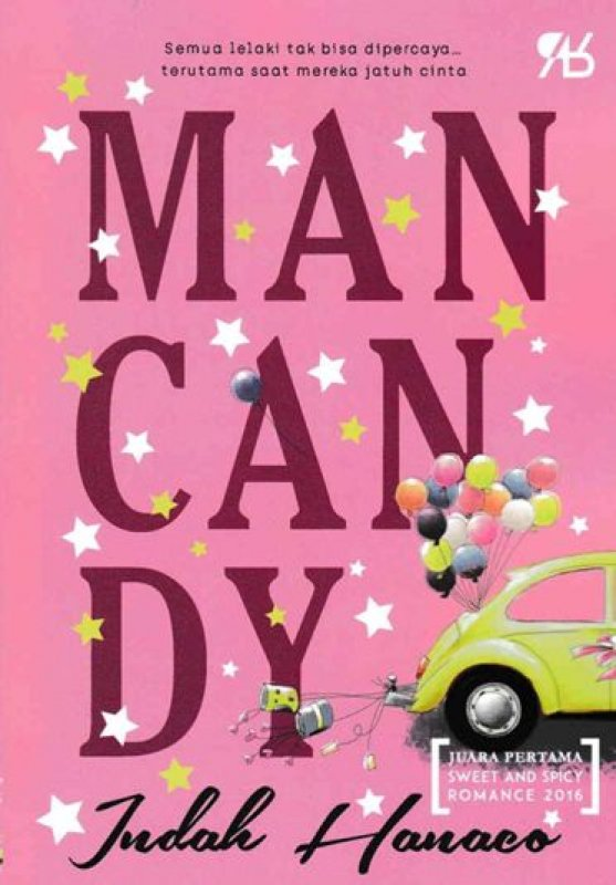 Cover Buku Man Candy