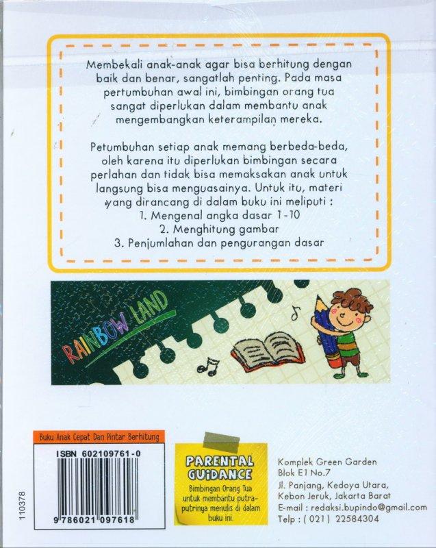 Cover Belakang Buku Cepat dan Pintar Berhitung (PAUD-TK, FULL COLOR)