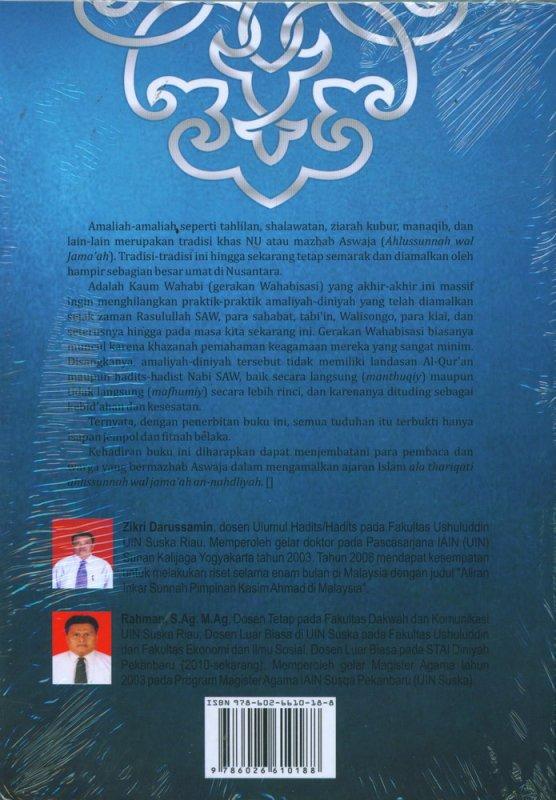 Cover Belakang Buku Merayakan Khilafiah Menuai Rahmat Ilahi