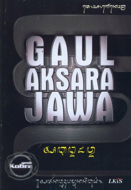 Cover Buku Gaul Aksara Jawa