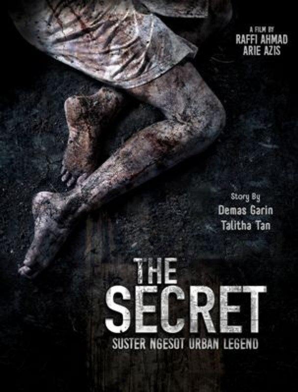 Cover Buku The Secret: Suster Ngesot Urban Legend [Edisi TTD Artis-Artis Film THE SECRET]