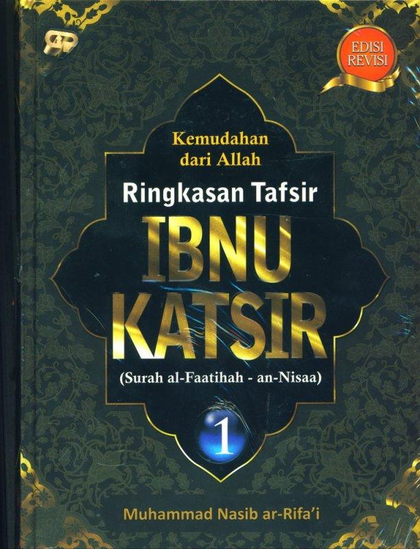 Cover Buku Ringkasan Tafsir Ibnu Katsir Jilid 1 Edisi Revisi
