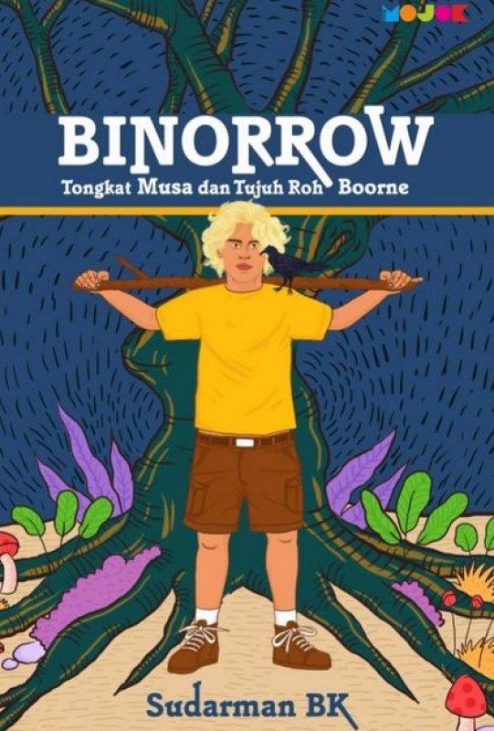 Cover Buku Binorrow: Tongkat Musa dan Tujuh Roh Boorne