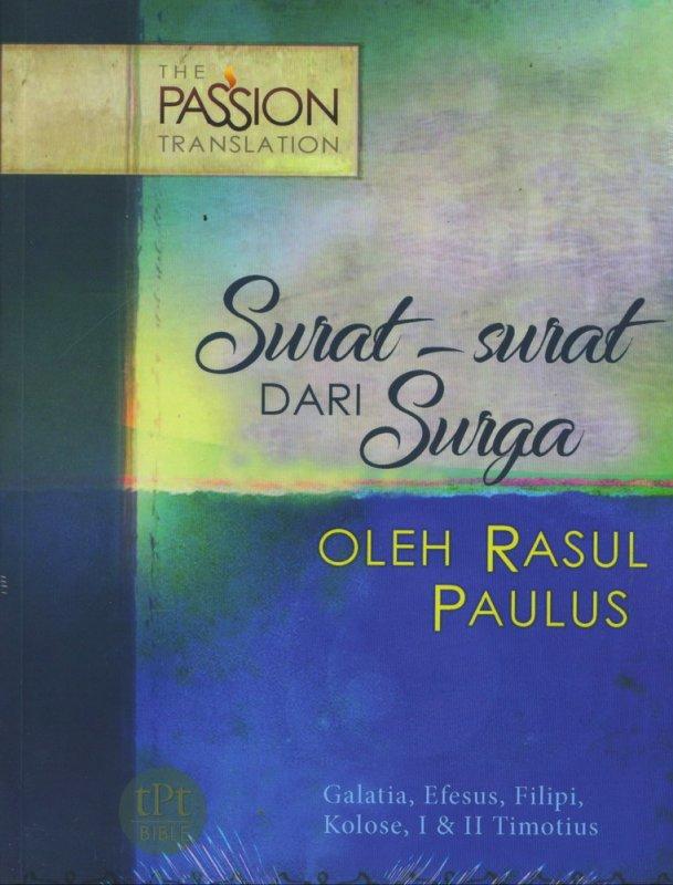 Cover Buku Surat-surat dari Surga - The Passion Translation