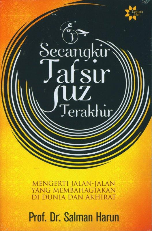 Cover Buku Secangkir Tafsir Juz Terakhir