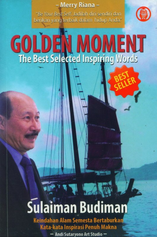 Cover Buku Golden Moment - The Best Selected Inspiring Words