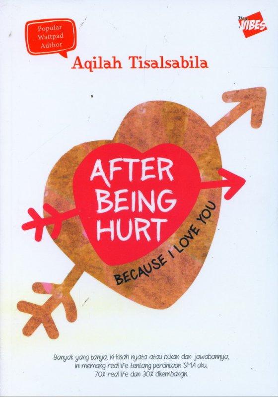 Cover Buku After Being Hurt