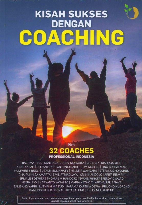 Cover Buku Kisah Sukses Dengan Coaching