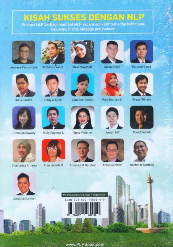 Cover Belakang Buku Kisah Sukses Dengan NLP