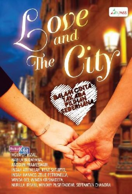 Cover Buku Love And The City (BK)