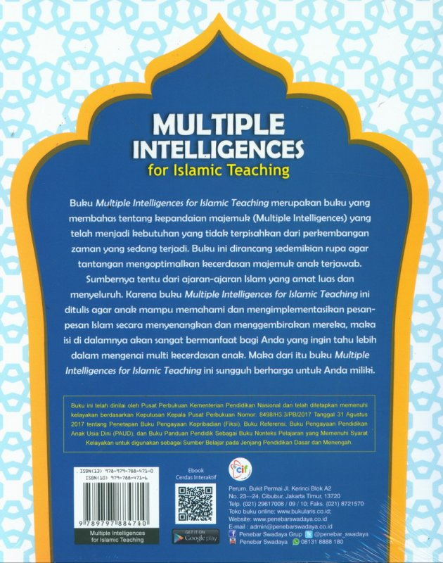 Cover Belakang Buku Multiple Intelligences for Islamic Teaching