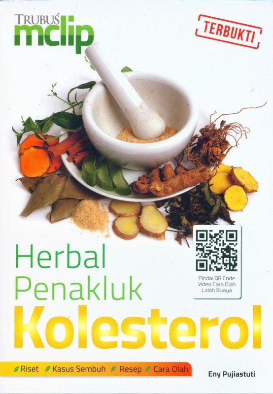 Cover Buku Herbal Penakluk Kolesterol