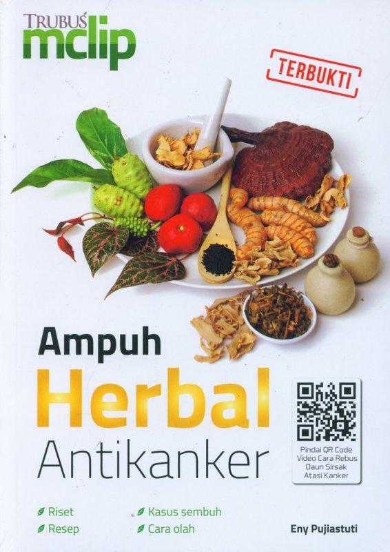 Cover Buku Ampuh Herbal Antikanker