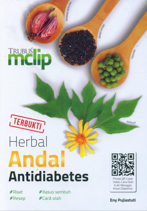 Cover Buku Herbal Andal Antidiabetes