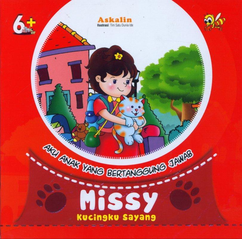 Cover Buku Missy Kuncingku Sayang