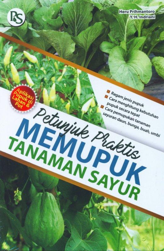 Cover Buku Petunjuk Praktis Memupuk Tanaman Sayur