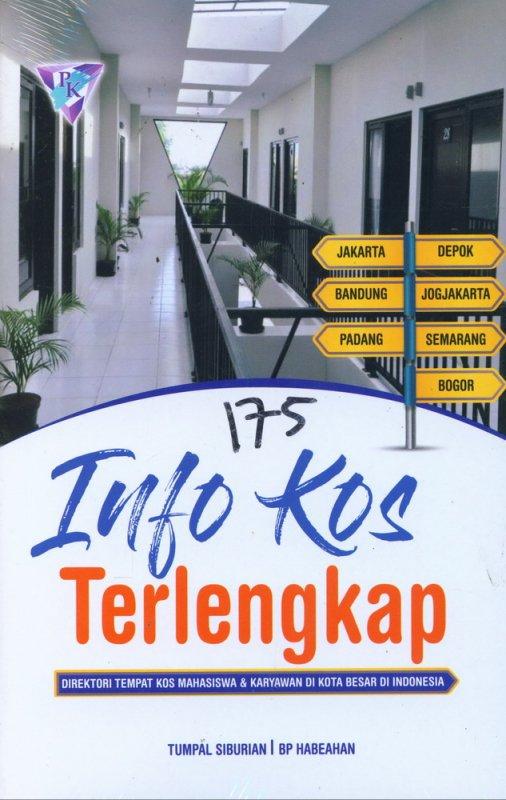 Cover Buku 175 Info Kos Terlengkap