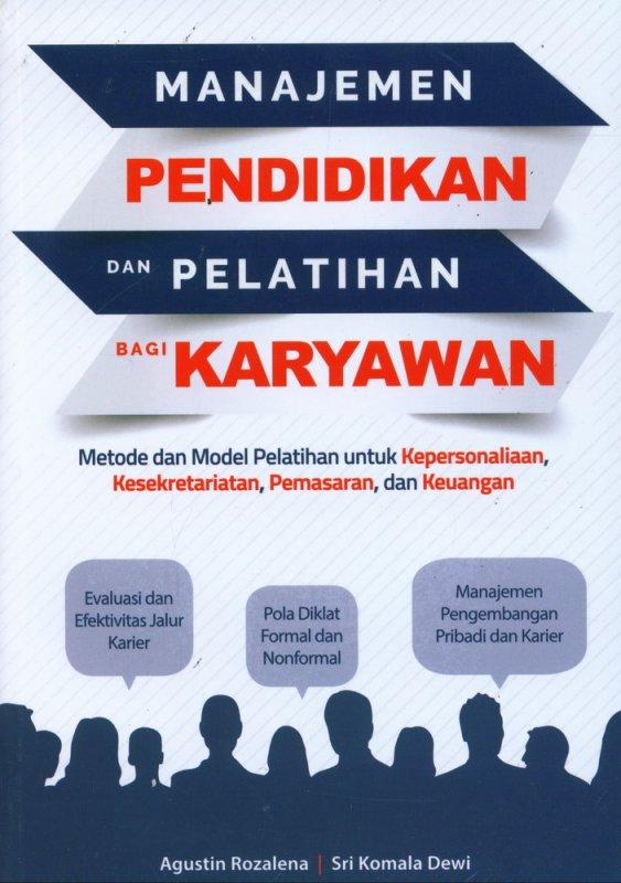 Cover Buku Manajemen Pendidikan Dan Pelatihan Bagi Karyawan