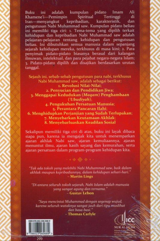 Cover Belakang Buku Kenabian Muhammad