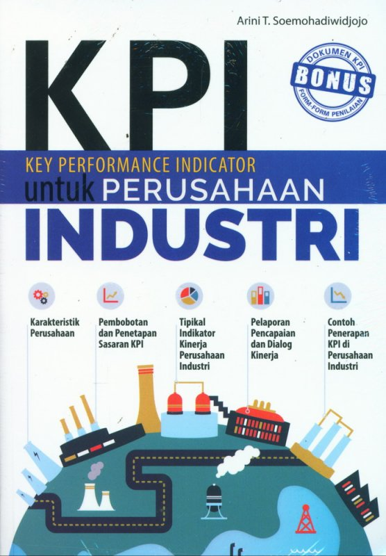 Cover Buku KPI Untuk Perusahaan Industri