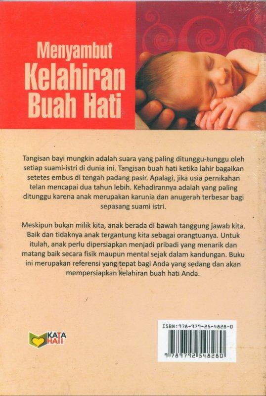 Cover Belakang Buku Menyambut Kelahiran Buah Hati ( Tips-Tips Islami )
