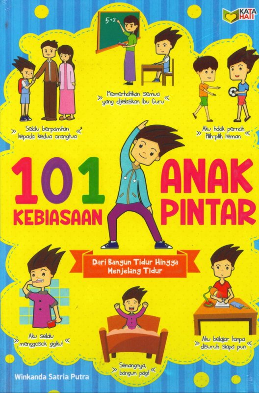 Cover Buku 101 Kebiasaan Anak Pintar