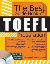 THE BEST GUIDE BOOK OF TOEFL PREPARATION