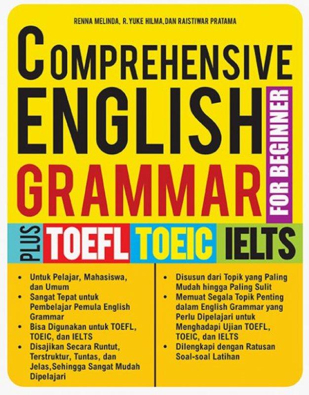 Cover Buku COMPREHENSIVE ENGLISH GRAMMAR FOR BEGINNER