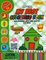 Green Series: My Best Colouring Book