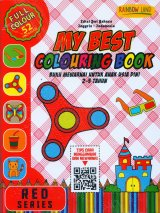 Red Series : My Best Colouring Book