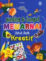 Gunting & tempel Mewarnai Untuk Anak Kreatif Seri 2