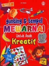 Gunting & tempel Mewarnai Untuk Anak Kreatif Seri 1