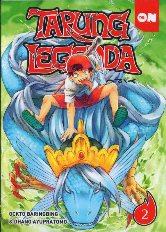 Cover Buku Tarung Legenda Vol 02