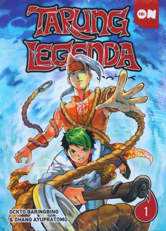 Cover Buku Tarung Legenda Vol 01