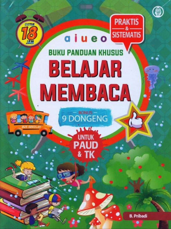 Cover Buku Buku Panduan Khusus Belajar Membaca UNTUK PAUD & TK