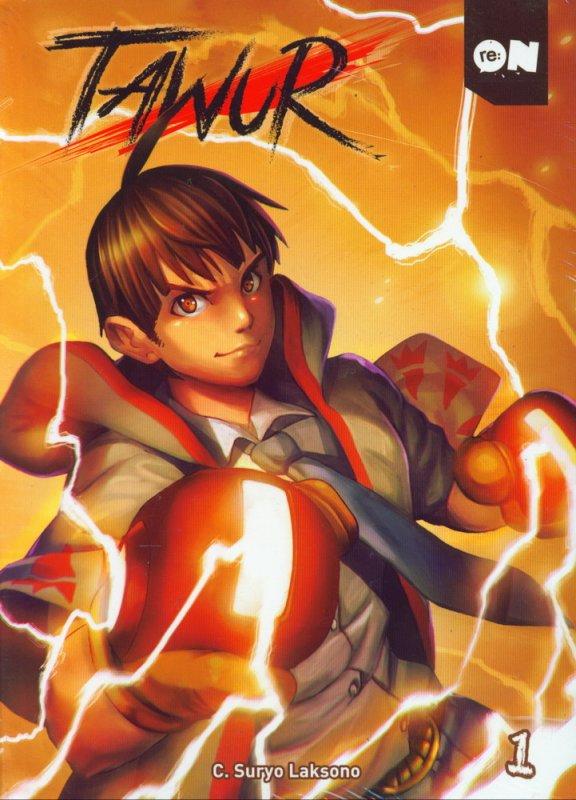 Cover Buku Tawur Vol 01