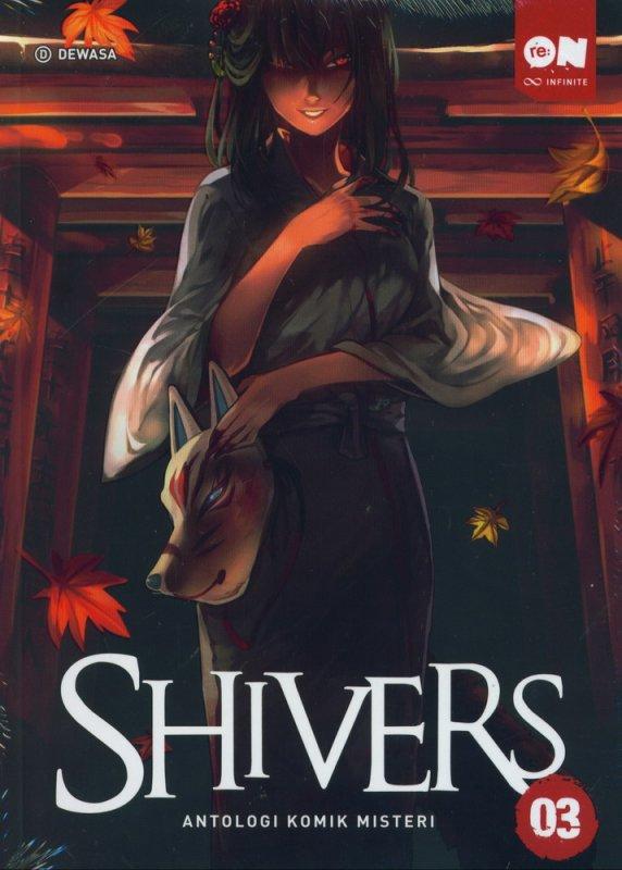 Cover Buku Shivers Antologi Komik Misteri 03
