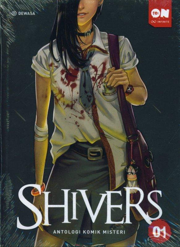Cover Buku Shivers Antologi Komik Misteri 01