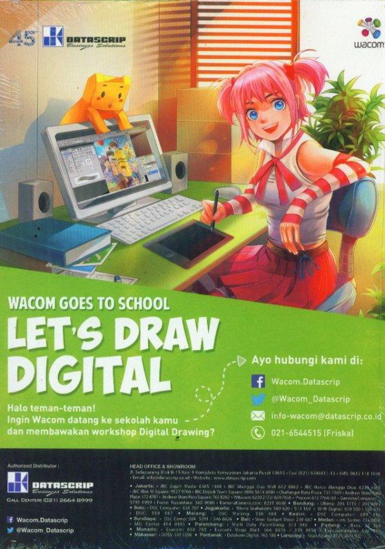 Cover Belakang Buku RE:ON COMICS VOL. 10 PERIODICAL COMICS COMPILATION
