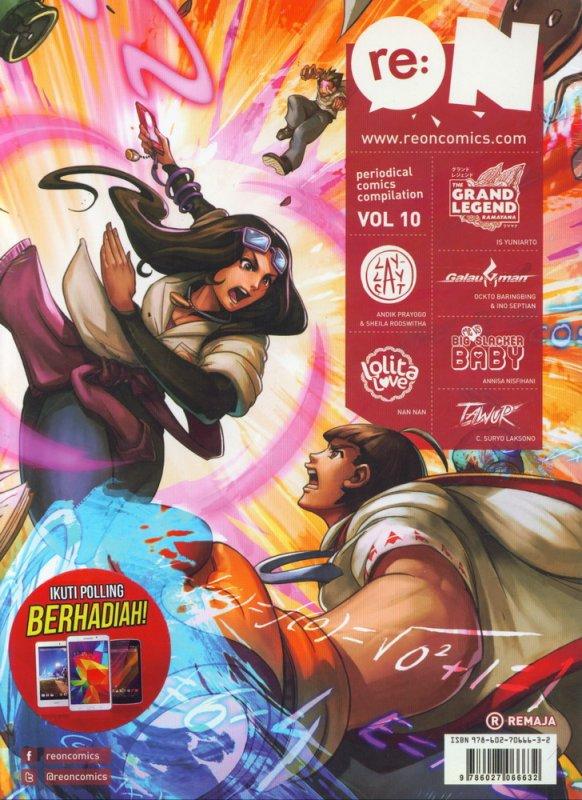 Cover Buku RE:ON COMICS VOL. 10 PERIODICAL COMICS COMPILATION