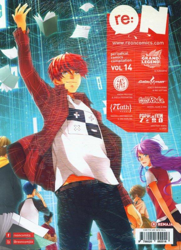 Cover Buku RE:ON COMICS VOL. 14 PERIODICAL COMICS COMPILATION