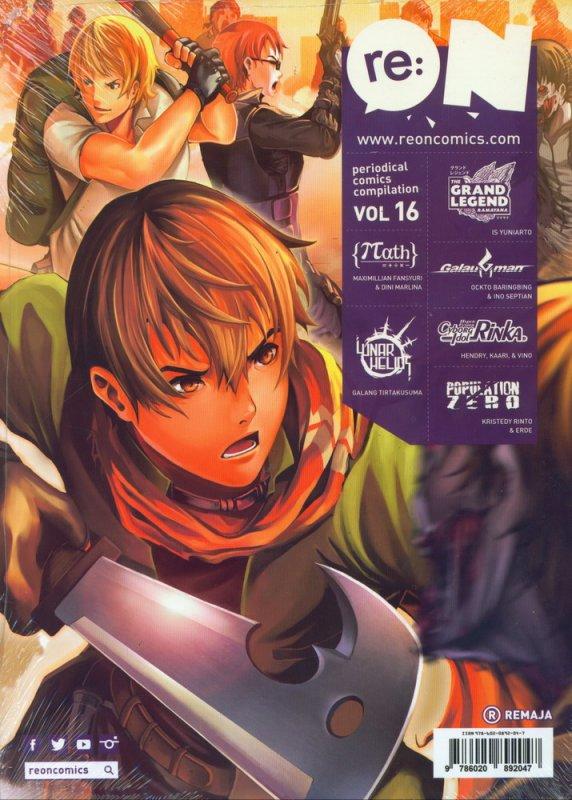Cover Buku RE:ON COMICS VOL. 16 PERIODICAL COMICS COMPILATION