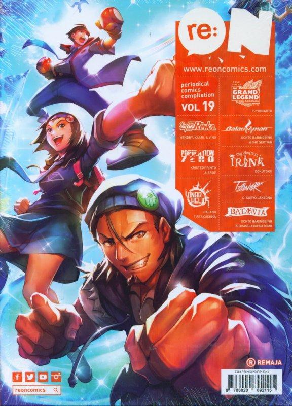 Cover Buku RE:ON COMICS VOL. 19 PERIODICAL COMICS COMPILATION