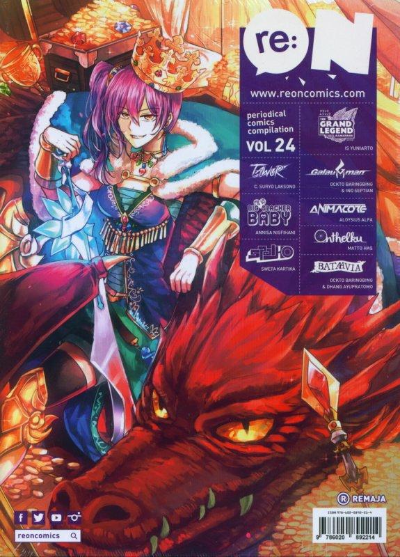 Cover Buku RE:ON COMICS VOL. 24 PERIODICAL COMICS COMPILATION