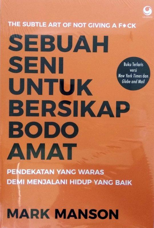 Cover Buku Sebuah Seni untuk Bersikap Bodo Amat